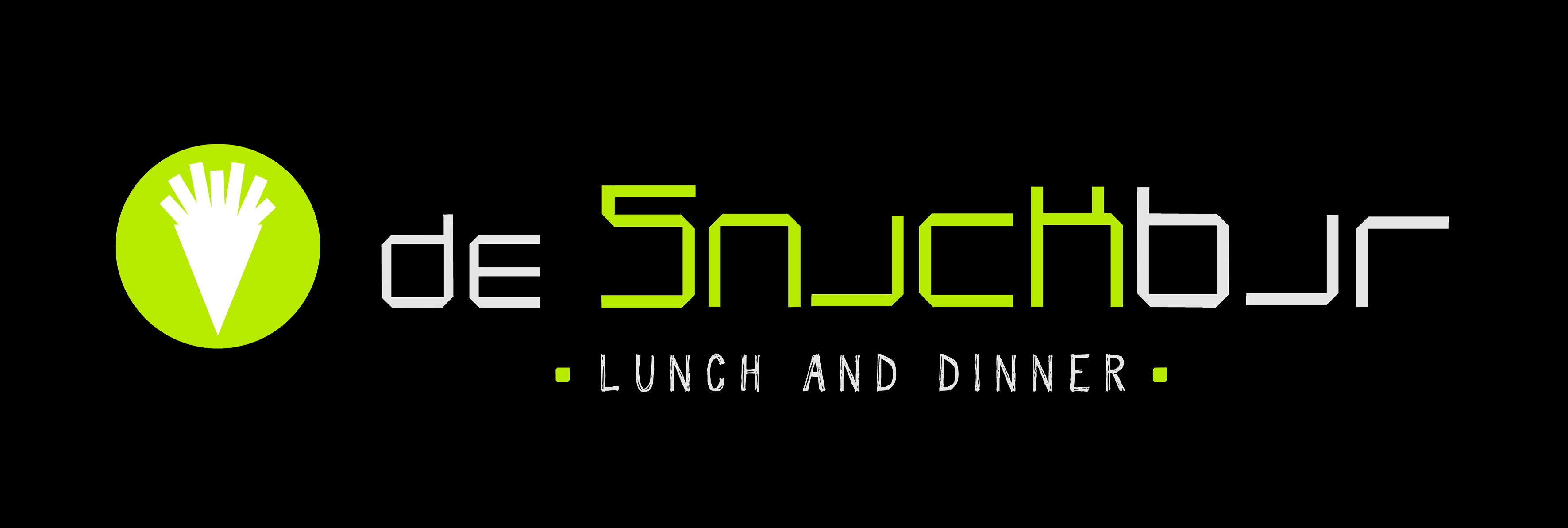 Logo De Snackbar background-black2